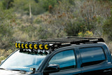 "KC HiLiTES 50"" Gravity LED PR06 Roof Rack - 2005+ Toyota Tacoma DBL Cab (92232) - TheYotaGarage"