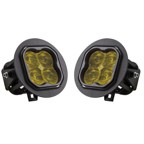 Diode Dynamics Yellow/Amber SS3 LED Fog Light Kit | 2008-2017 Toyota Sequoia - TheYotaGarage