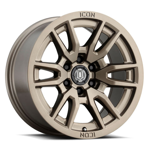 Icon Alloys Vector 6 Wheel | Bronze - Toyota 2016+ Tacoma/2014+ 4Runner - TheYotaGarage
