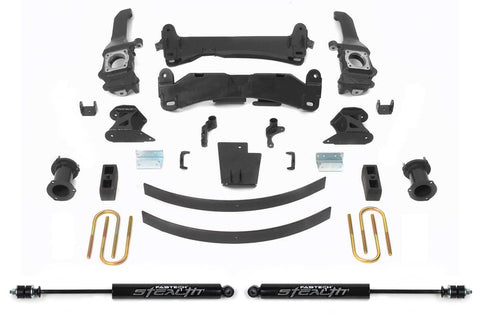 "Fabtech 6"" Basic Lift Kit w/Stealth Shocks - 2016+ Toyota Tacoma (K7047M) - TheYotaGarage"
