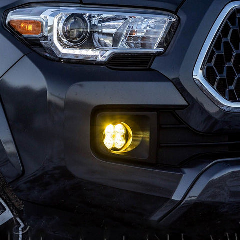 Diode Dynamics SS3 Amber LED Fog Light Kit | 2016+ Toyota Tacoma - TheYotaGarage