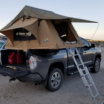 "Tuff Stuff ""Delta"" Roof Top Tent - 2 Person (TS-RTT-DLT) - TheYotaGarage"