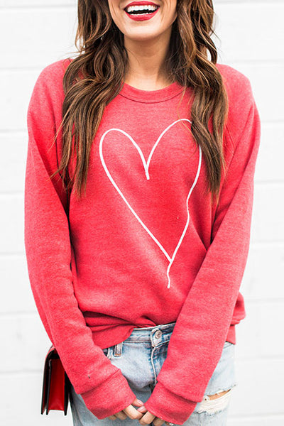 31Styles Embroidered Pullover Loose Sweater