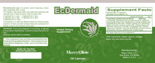 Load image into Gallery viewer, EcDermaid Capsules for Eczema and Dermatitis