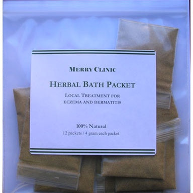 Herbal Bath Packets for Eczema