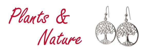 Plants and Nature themes jewellery