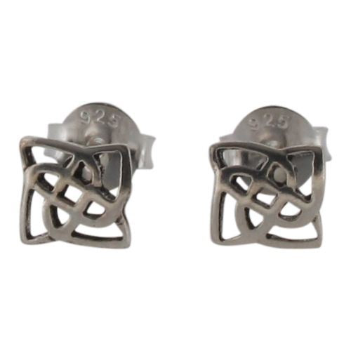 Sterling Silver Celtic Stud Earrings