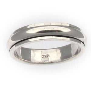 Sterling Silver Rotating Spinner Ring