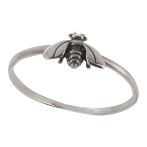 Sterling silver Bee design ring - Touch Jewellery