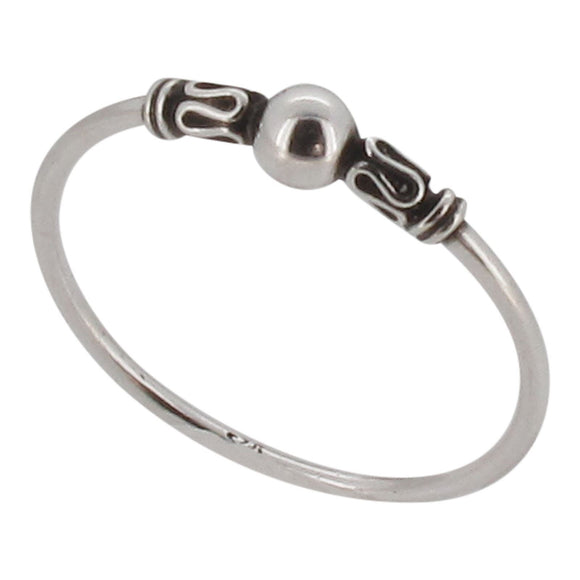 Sterling silver Indo design ring - Touch Jewellery