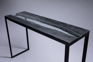 Ash Wood Console Table