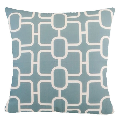 Charcoal Blue Accent Pillows 18x18