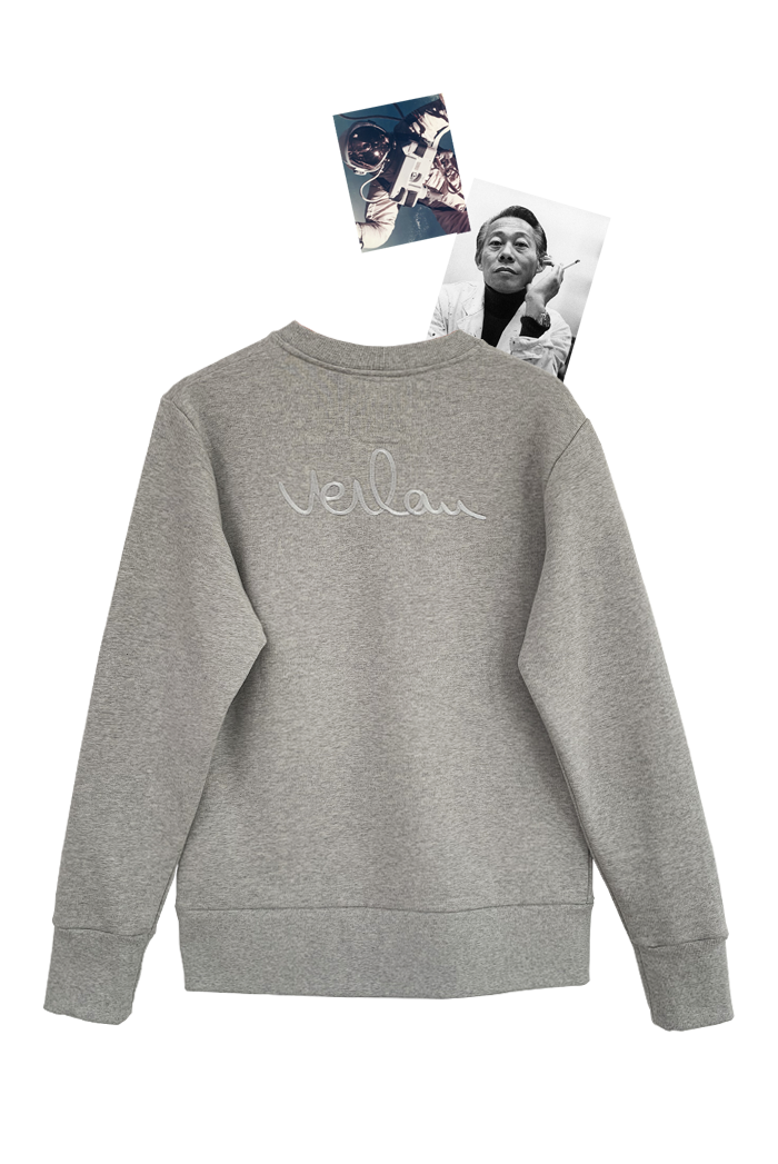 GREY SWEATSHIRT - BACK BRANDING