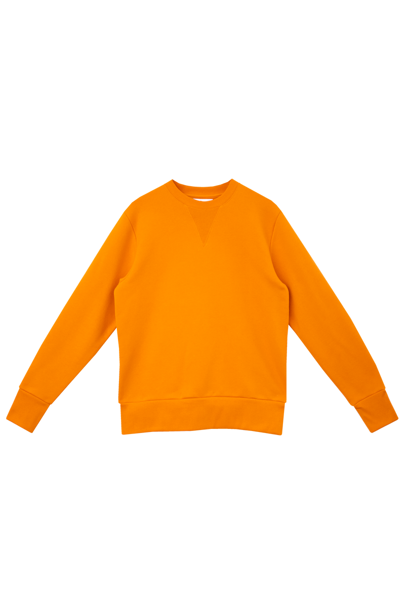 ORANGE SWEATSHIRT - BACK BRANDING