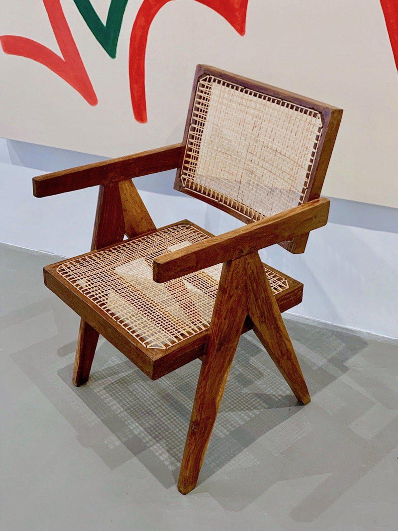 Pierre Jeanneret - Office Chair with Floating Back, CA 55-Verlan