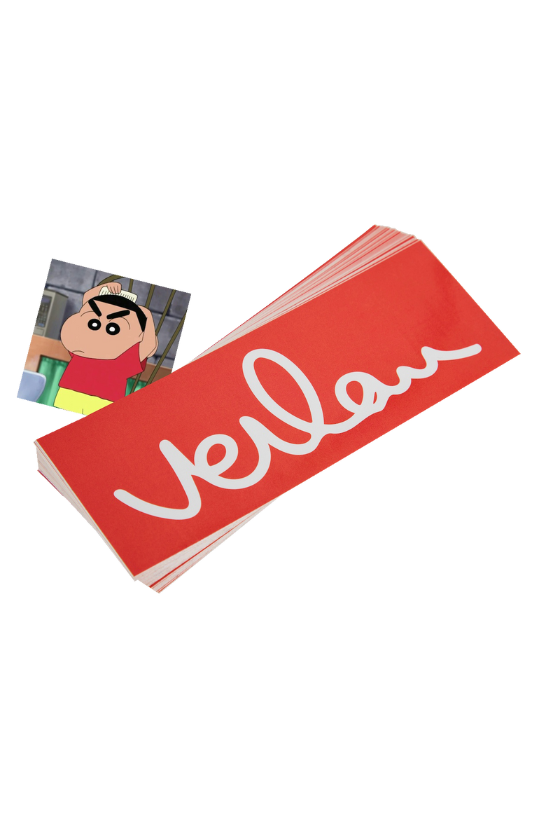 Verlan Box Logo Sticker