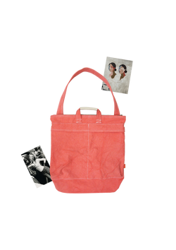 PINK HELMET BAG