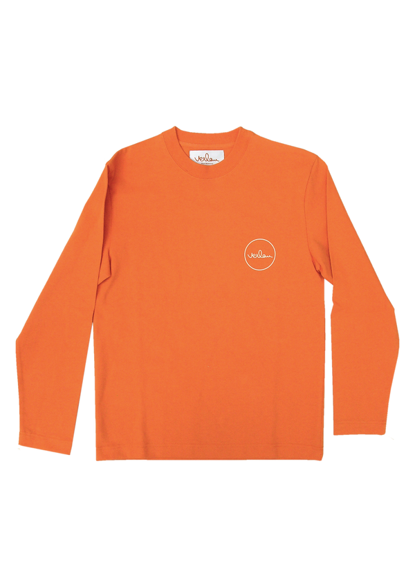 ORANGE LONG SLEEVE T-SHIRT - FRONT AND BACK BRANDING