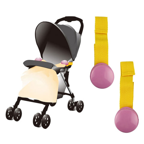 2 PCS Baby Children Blanket Clip Delicate Glossy Portable Multicolour Baby Stroller Blanket Clips Stroller Accessories Wholesale
