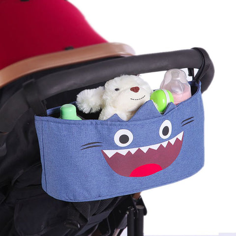 2019 Universal Baby Stroller Organizer Bag Storage Large Space Trolley Hooks Hanging Bags Stroller Accessories Drop Ship 2019