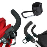 Hot Sale Baby Care Pushchair Stroller Pram Clip Hooks Shopping Bag Metal Hook Holder Stroller Accessories Hands Free Convenience