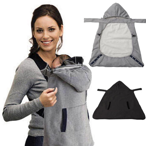 MUQGEW Baby Carrier Sling Cloak Warm Cape Cloak Winter Cover Wind Out Necessary Carry Baby Sling Carriers 2-30M
