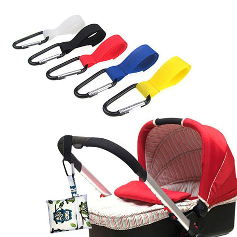 New 1pcs Shopping Bag Stroller Hook For Wheelchair Stroller Carabiner Clip Baby Strollers Carriage Bag Hooks Clip Accessories