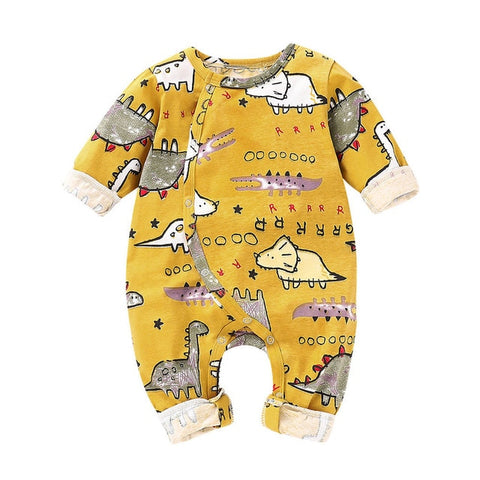 Newborn Infant Toddler Baby Boys Girls Cartoon Animal Romper Jumpsuit Outfits Casual wear Terno de escalada#30