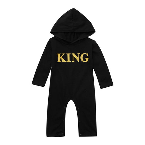 Toddler Kids Fashion Baby boy Letter romper Hoodie funny baby clothes Spring Autumn Jumpsuit Outfits baby costumes Drosphipping