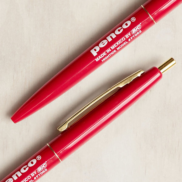 Penco - Ballpoint Pen, Red
