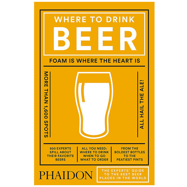 Where to Drink Beer - Phaidon Press