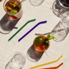 Poketo - Cool Glass Straws, Set of 4