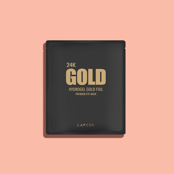 Lapcos - 24k Gold Foil Eye Mask