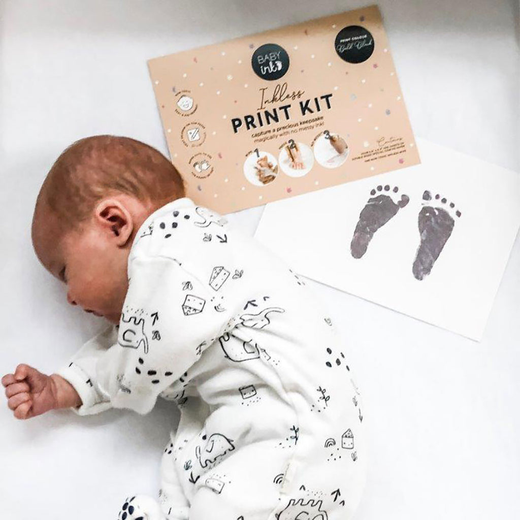 BABYink - Ink-less Print Kit, Black