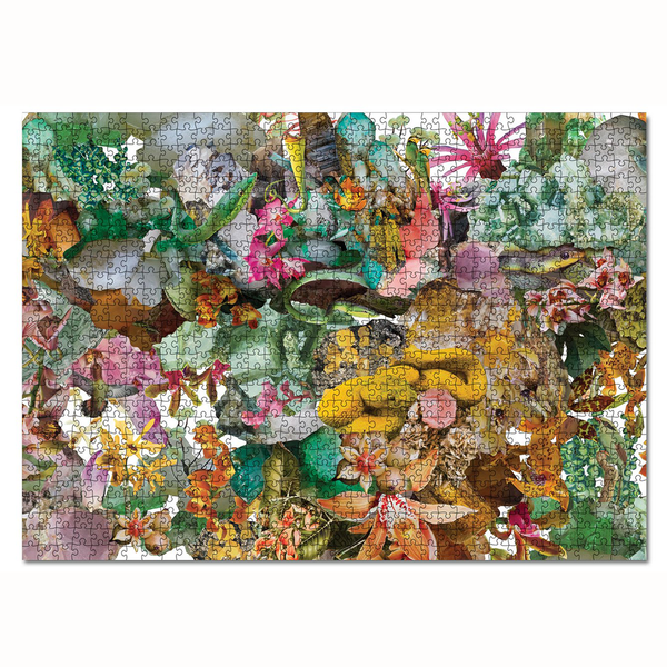 Journey of Something - 1000 Piece Puzzle, Flora