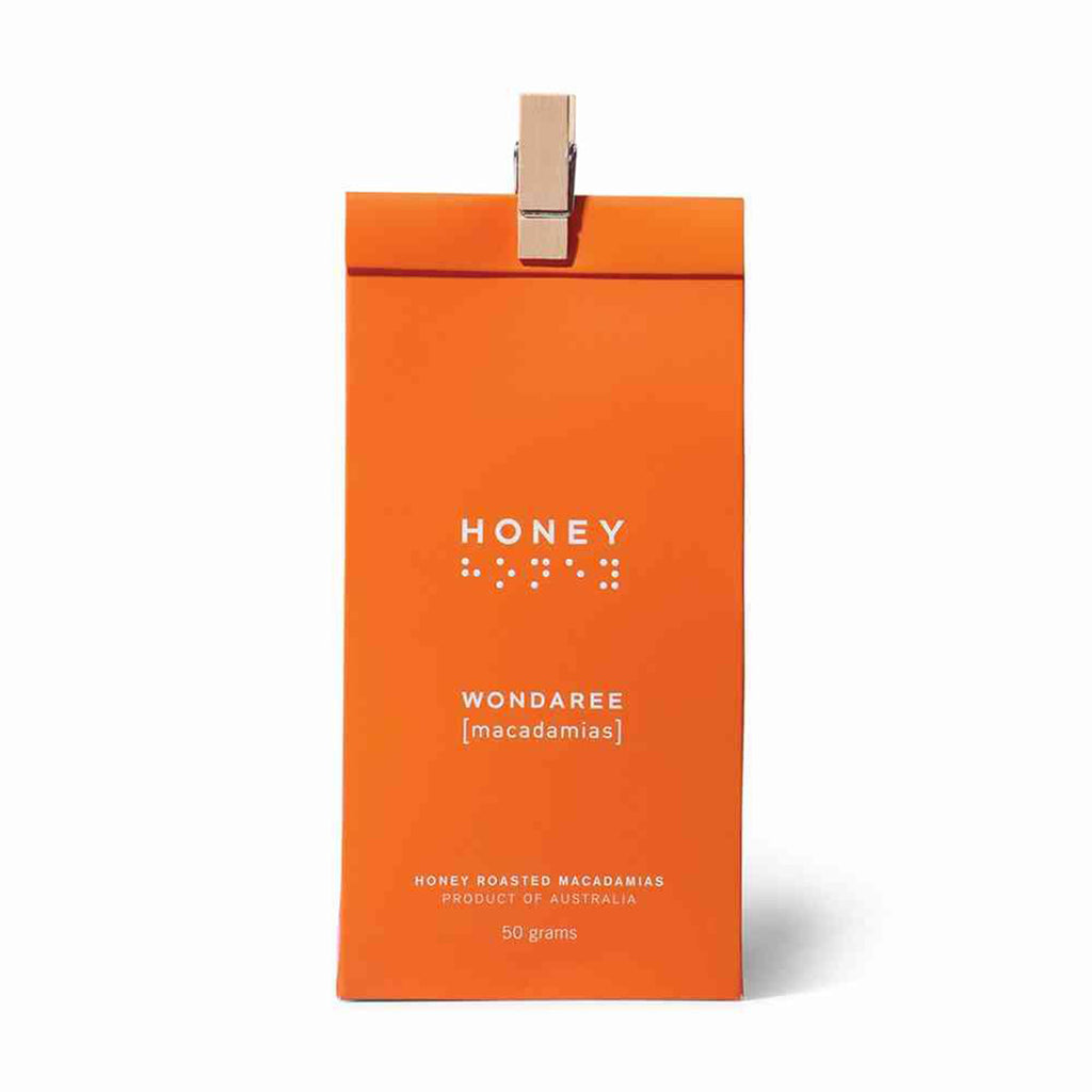Wondaree Macadamias - Honey Roasted