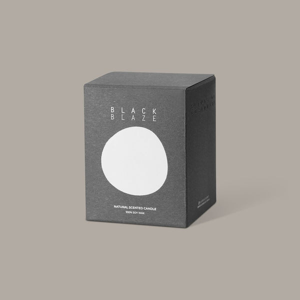 Black Blaze - Citrus Valley Scented Candle