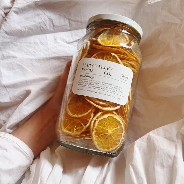 Mary Valley Food Co. - Dried Orange, 70g