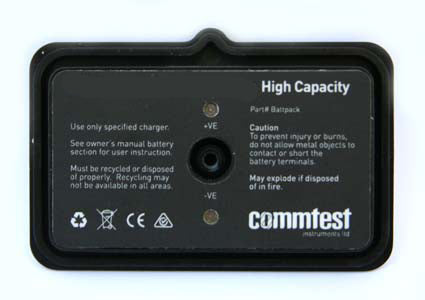 COMMTEST Batteries