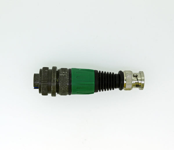 Cable Converter - Military-F Connector To BNC-M Connector