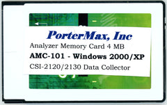 CSI 2120 Analyzer Memory Card 4MB