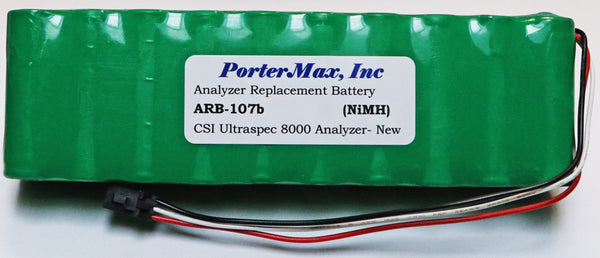 CSI 8000 (Old Style) Analyzer Replacement Battery