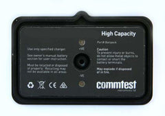 COMMTEST vbClassic and Profiler Instruments Analyzer Refurbished Battery