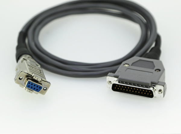 CSI Communications Cable 25 Pin D-Sub Connector To 9 Pin D-Sub Connector