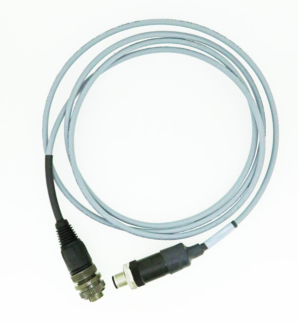 CSI 2130 & CSI 2140 Straight Cold Temperature Cable 5 Pin TURCK Connector to 2 Socket Military Connector