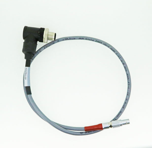 CSI 2130 SpeedVue Laser Cable TURCK 5 Pin Reverse Connector to Lemo Connector