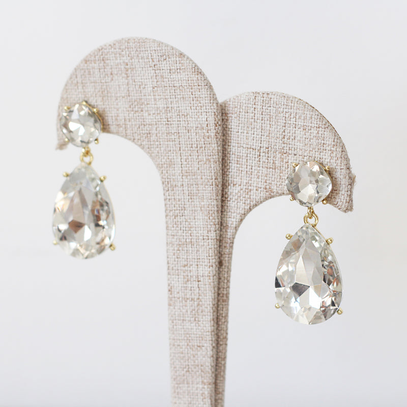 Aretes Crystal Drop