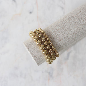 Pulsera Golden Pearls