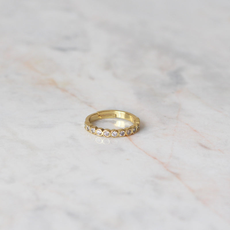 Anillo Infinite Golden Love