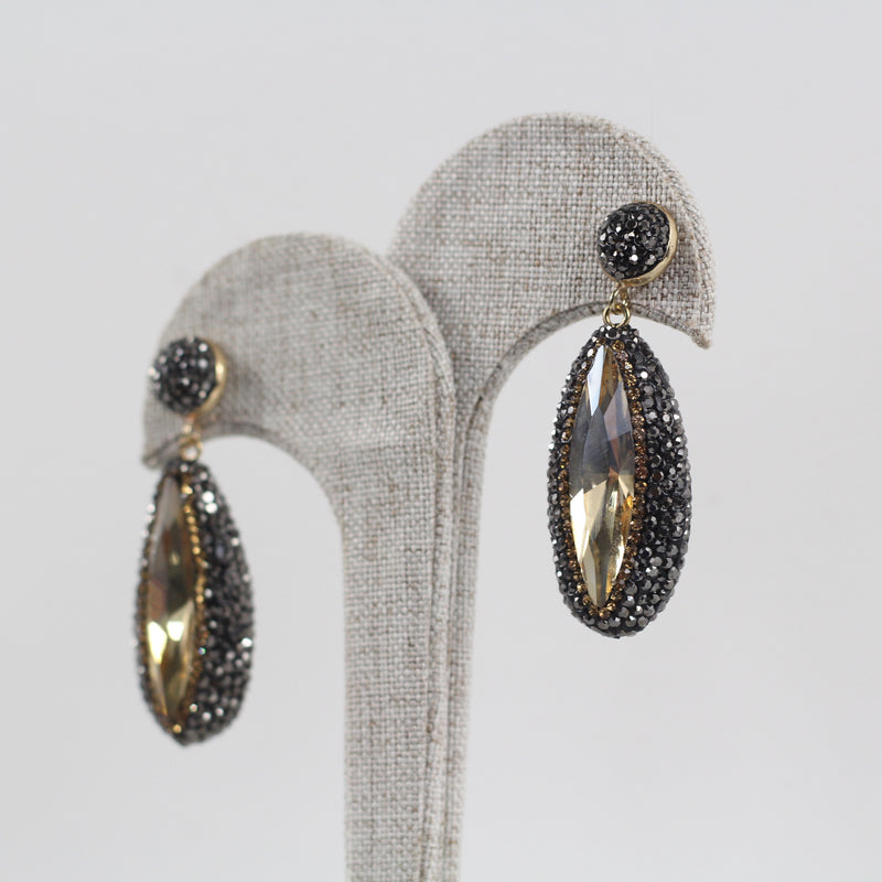 Aretes Statement Honey